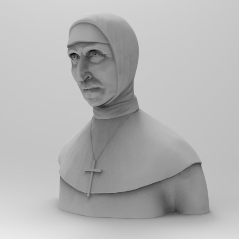 Download 3D printer model VALAK without the veil, thierry3D