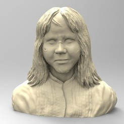 3D printing model REGAN, THE EXORCIST, thierry3D