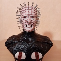 Download STL file PINHEAD the Cenobite, thierry3D