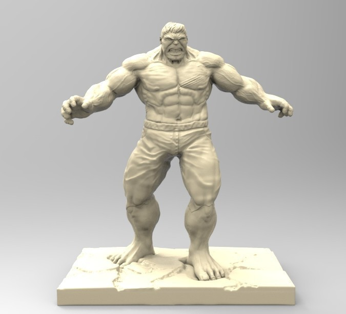 HULK01.jpg Download STL file HULK • 3D printable design, thierry3D