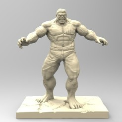 Download 3D model HULK, thierry3D