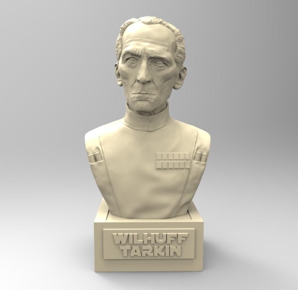 01.jpg Download STL file LARGE TARKIN MOFF • 3D print model, thierry3D