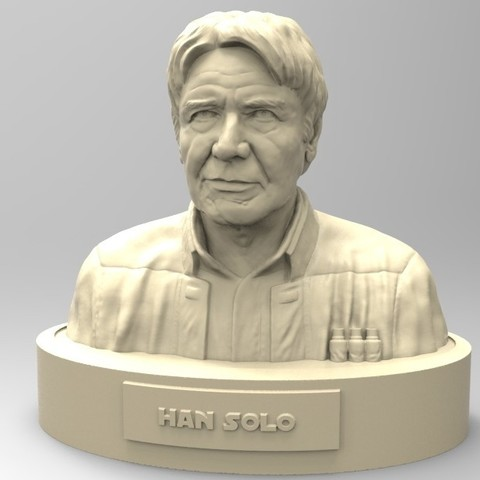 Download STL file HAN SOLO • Model to 3D print, thierry3D