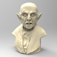 3D printer models Nosferatu, thierry3D