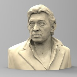 gainsbourg_01.jpg Download STL file GAINSBOURG • 3D printable template, thierry3D