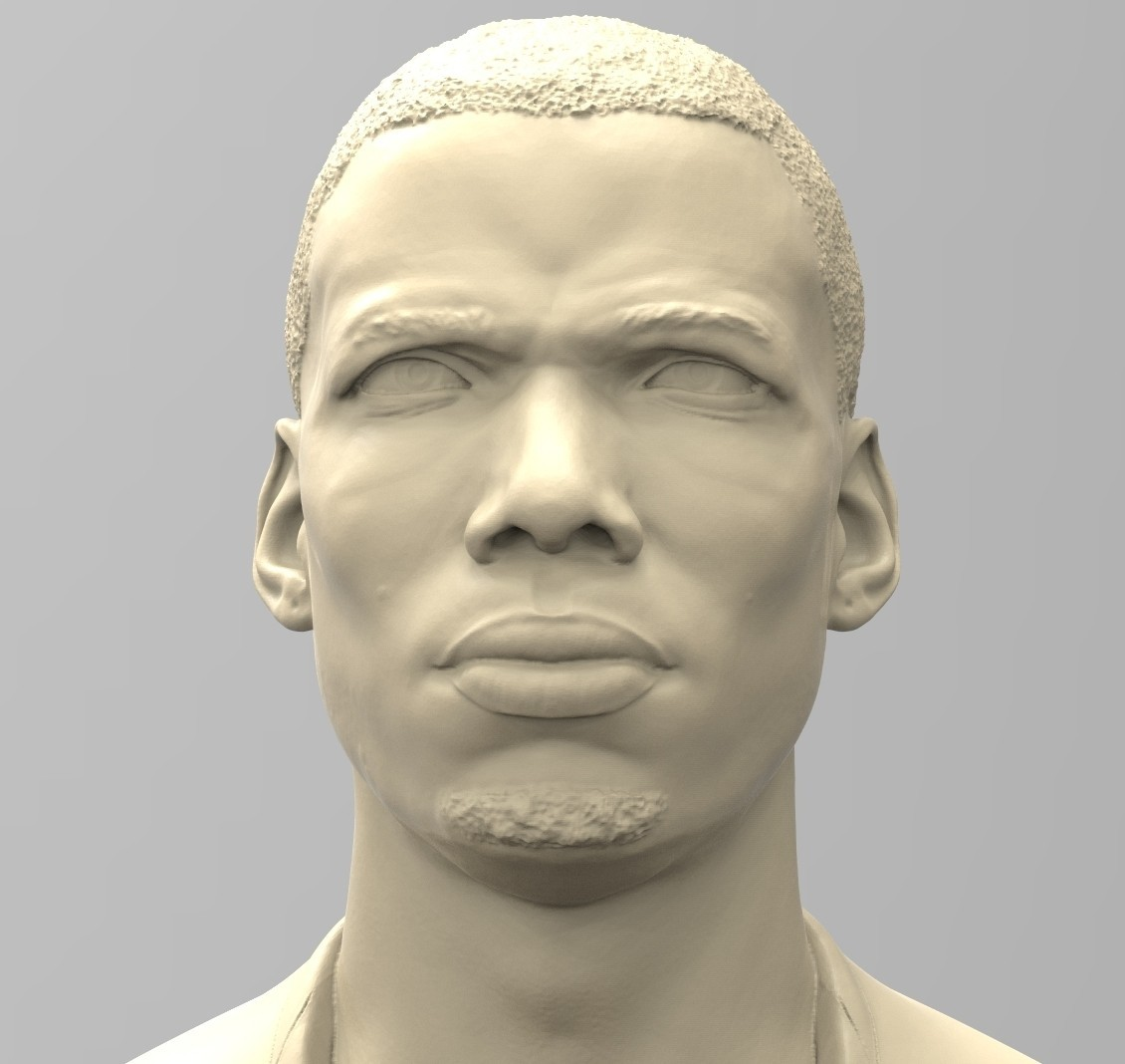 04.jpg Download STL file PAUL POGBA • Object to 3D print, thierry3D