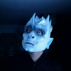 Free 3D printer model Night King Mask & Bust - Game Of Thrones, PrintThatThing