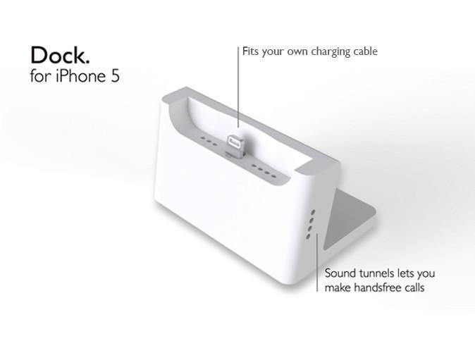 Dock.jpg Télécharger fichier STL gratuit Dock de Bureau pour iPhone 5 • Objet pour impression 3D, printlab