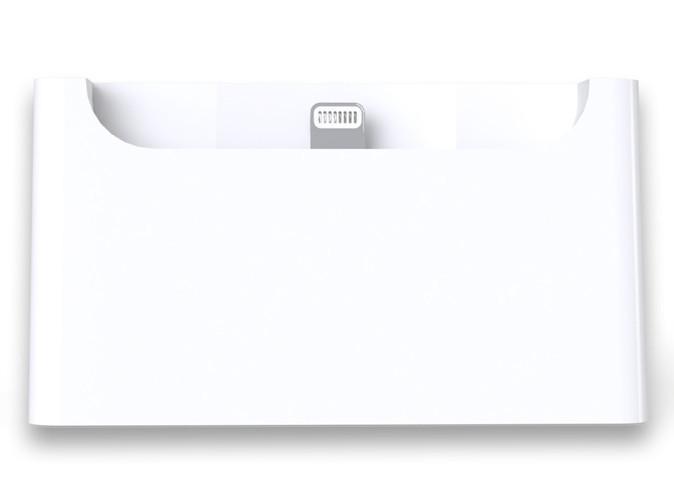 Front.jpg Télécharger fichier STL gratuit Dock de Bureau pour iPhone 5 • Objet pour impression 3D, printlab