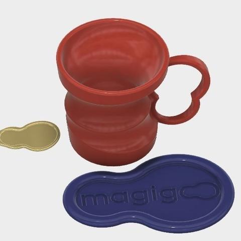 Capture 7.JPG Download STL file Coffee Kit #MAGIGOO • Template to 3D print, MyVx35