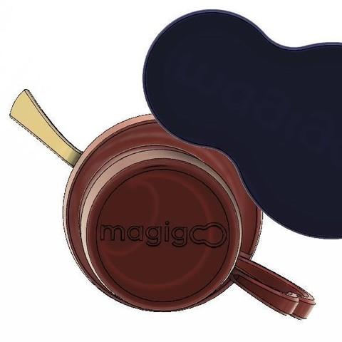Capture 9.JPG Download STL file Coffee Kit #MAGIGOO • Template to 3D print, MyVx35