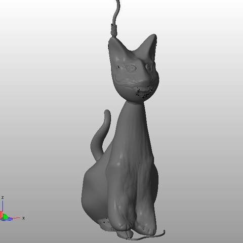 Hector V3_2.JPG Download STL file Hector, the Crazy Cat • 3D print object, MyVx35