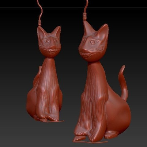 Hector V3_4.JPG Download STL file Hector, the Crazy Cat • 3D print object, MyVx35