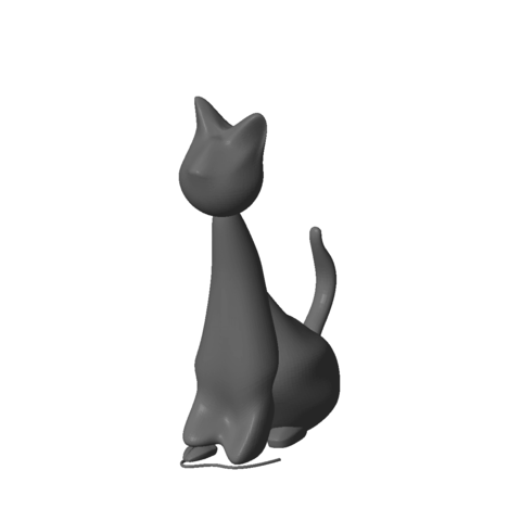 Download 3D model Hector The Cat, MyVx35
