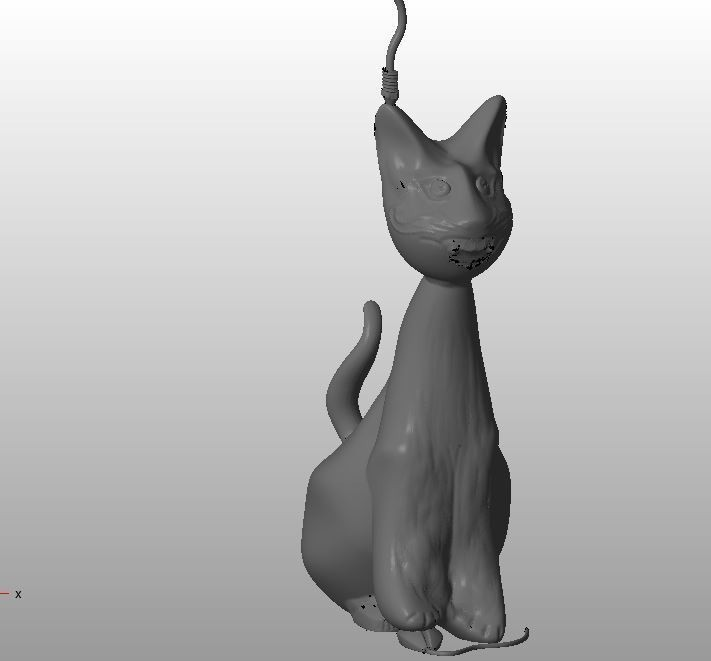 Hector V3.JPG Download STL file Hector, the Crazy Cat • 3D print object, MyVx35
