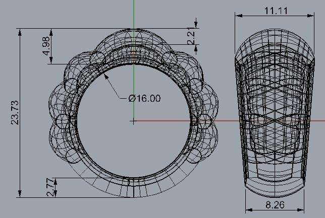 SheelRing_16mm.jpg Télécharger fichier STL gratuit Anneau de coquillage • Design à imprimer en 3D, KhimairaStudio