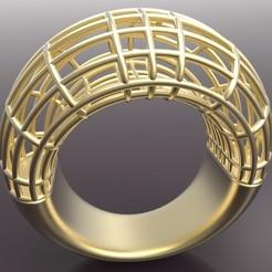 Descargar modelos 3D gratis Ring Cage, KhimairaStudio