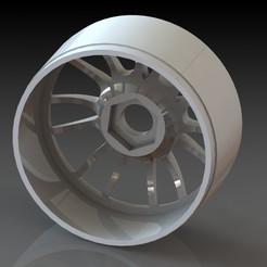 rim  rc 1 8.JPG Télécharger fichier STL gratuit rim rc car 1:8 • Design imprimable en 3D, netgearnono