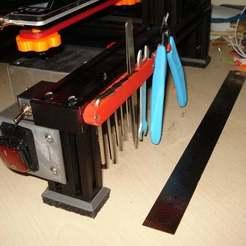 Télécharger fichier imprimante 3D gratuit outil de soutien alfawise U30, netgearnono