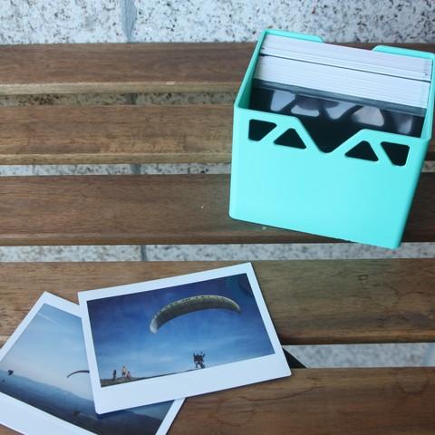 Download free 3D printer designs Instax Wave Fujifilm Box, Rourrodas