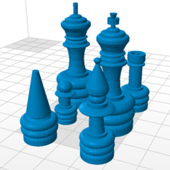3d print files Chessboard, CambiamenteDS