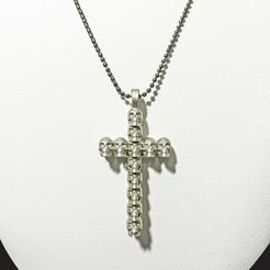 Skulls Cross 001.jpg Download STL file Skulls Cross • 3D printing template, CambiamenteDS