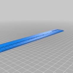Télécharger objet 3D gratuit Ma règle iRuler personnalisée, shikyo