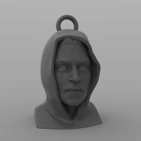 mr_robot_keyring.3.jpg Download STL file Mr Robot Keyring • 3D printing model, martamacedo