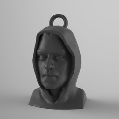 Download 3D printer files Mr Robot Keyring, martamacedo