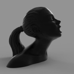 Download 3D printer files Blade Runner Girl Statue, martamacedo
