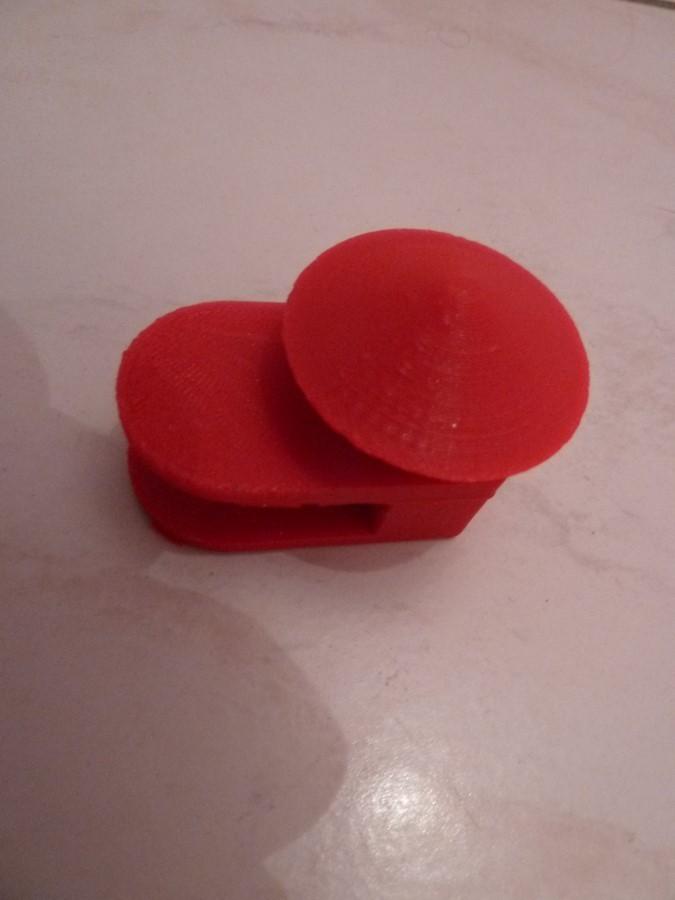 P1050158 (Copier).JPG Download free STL file Patère chapeau chinois • 3D printer template, sylvain