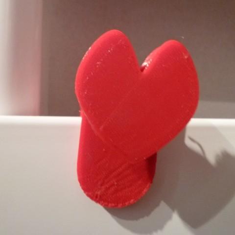 P1050155 (Copier).JPG Download free STL file heart for radiator • 3D printing object, sylvain