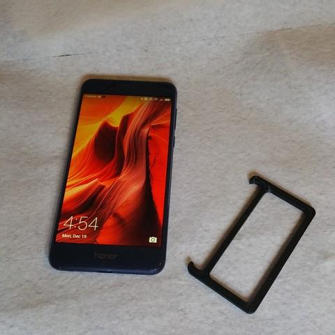 20161219_045446.jpg Download STL file Pocket Stand for Huawei Hero 8 • 3D printing template, cfishy