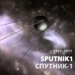 Télécharger fichier 3D gratuit Sputnik1 / Спутник-1, tone001