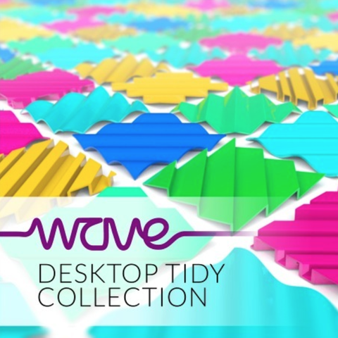 Free WAVE desktop tidy collection STL file, tone001