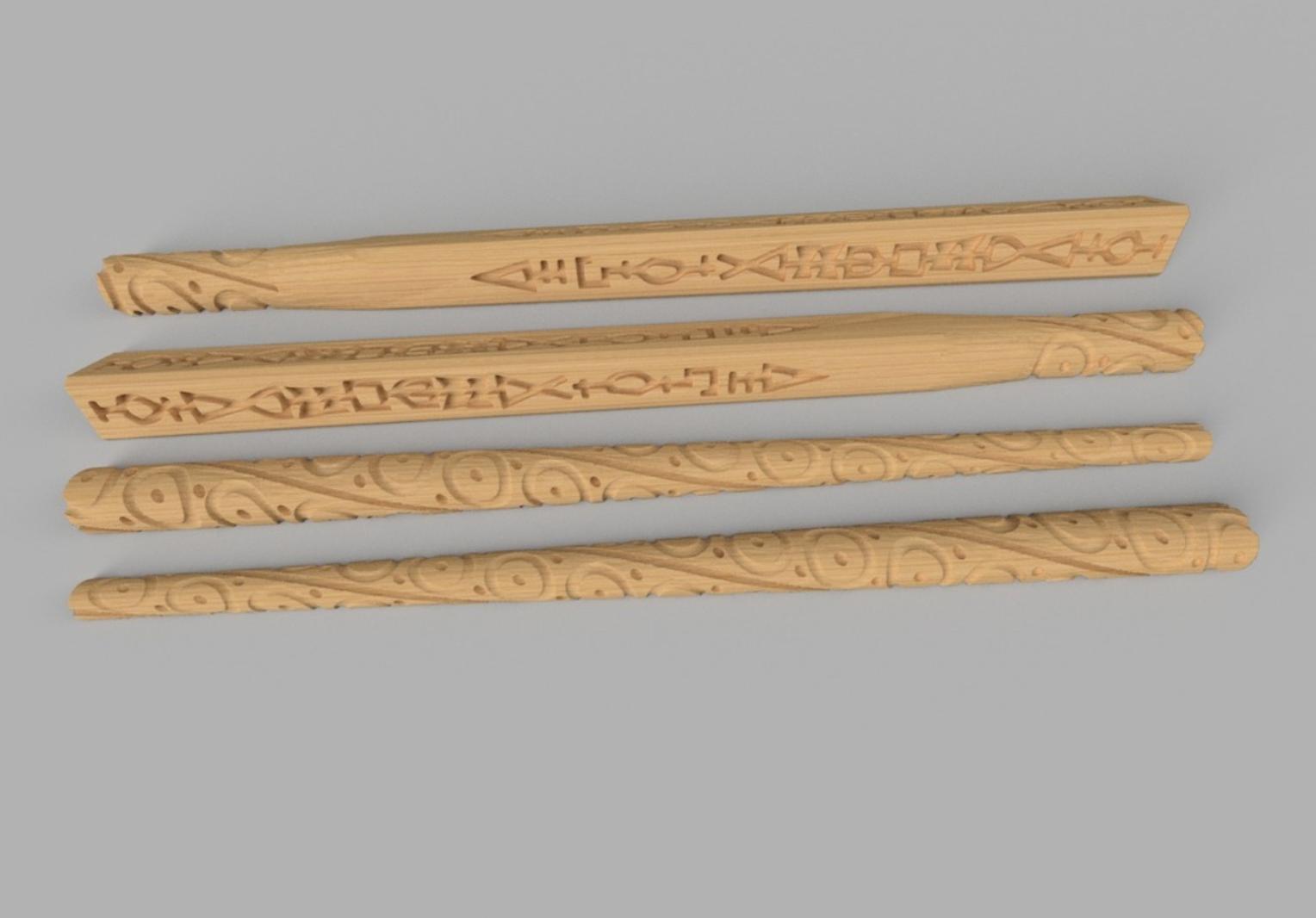 Capture d'écran 2017-10-24 à 17.48.08.png Download free STL file Sirius Black wand (split into 4 parts) • Object to 3D print, tone001