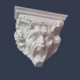 Download free 3D printer templates Waddesden Manor Stables Water Spout (1800s), tone001