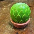 Free 3d printer model Small potted succulents, tone001