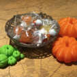 Free 3D printer files Spooky bowls, tone001