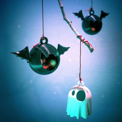 Télécharger fichier imprimante 3D gratuit BatBall et GhostGlobe, tone001