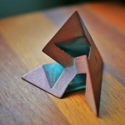 Télécharger modèle 3D gratuit Dodécaèdre heptagonal (type A) (forme C3-symétrique 3), tone001