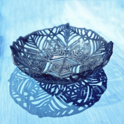 Download free 3D printing templates Spooky bowls, tone001