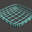 Download free 3D printer designs Large wire basket (medium height), tone001