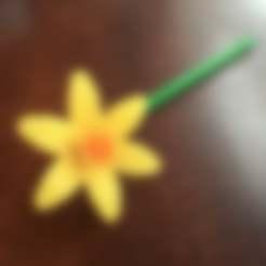 Télécharger STL gratuit Narcisses de printemps, tone001