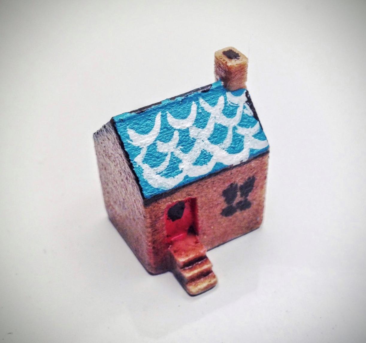 Capture d'écran 2017-10-24 à 14.20.23.png Download free STL file Simple tiny house • 3D printing model, tone001