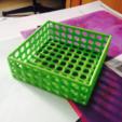 Download free 3D printer model Square wire basket tray, tone001