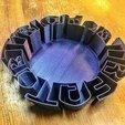 IMG_3937.JPG Download free STL file Trick or Treat or Bowl • 3D printable model, tone001
