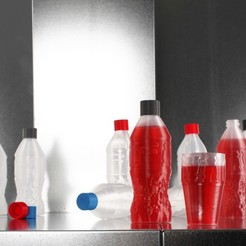 Free 3d printer files FormFutura Cola Bottle, Formfutura