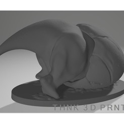 Download free 3D printing designs Dinosaur Egg - Triceratops, Think3dprint