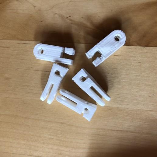 Download free STL file Clip crochets pour rideau sur câble • 3D printable design, Picaboubx